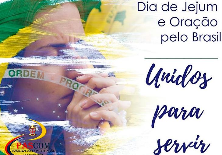 JORNADA DE ORAÇÃO – Dia de Jejum e Oração pelo Brasil