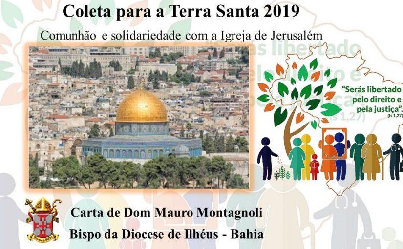 Coleta para a Terra Santa 2019