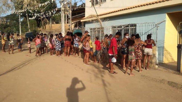 A solidariedade do Papa Francisco tocou a Baixada Fluminense